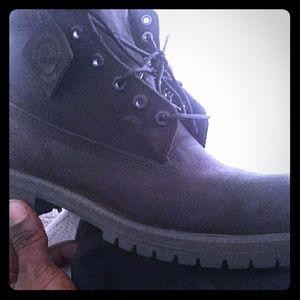 Timberland boots..